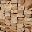 Stack of Building Lumber — Stock Photo