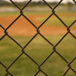Baseball Field viewed through a Fence — Stock Photo #38269071