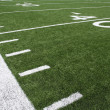 AmericFootball Field Yard Lines — Foto Stock #38317793