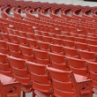 Empty Concert Seats — Stock Photo