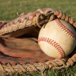 Baseball in a Glove — Stock Photo #38318885