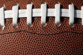 American Football Laces Close up — Stock Photo