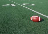 American Football with the Forty Beyond — Stock Photo