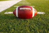 Football americano sul campo — Foto Stock
