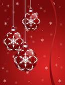 Yeni yıl kartı — Stok fotoğraf
