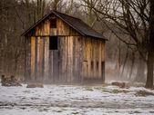 老朽化した古い家 — ストック写真