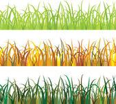 Seamless pattern Grass — Stock Vector