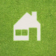 Royalty-Free Stock Photo: Home of green grass texture and background
