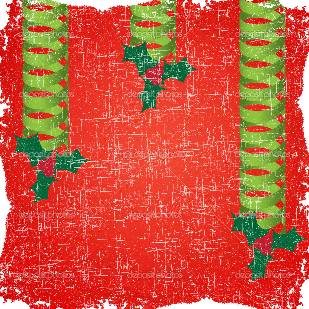 Old paper of christmas background and pattern — Stock Photo #13480164