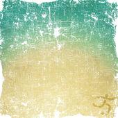 Sport voetbal pictogram op oude papier achtergrond en textuur — Stockfoto