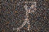 Icono de golf sport café textura y fondo — Stockfoto