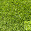 Book icon on green grass background  — Stock Photo
