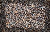 Reservar o ícone no fundo de café e texturizado — Fotografia Stock