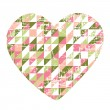 Royalty-Free Stock Immagine Vettoriale: Heart of paper Valentines day