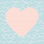 Valentine vector background — Stock Vector