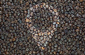 Pin on coffee background and textured — Stock fotografie