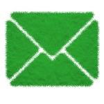Plasticine of mail icon — Stock Photo #23903985