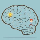 Look for idea — Stock Vector