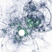 Fractal illustraties, abstractie van een uurwerk water, steampunk ontwerpen — Stockfoto