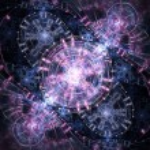 Pastel colored steampunk themed clockwork, digital fractal art — Stock Photo #24600529