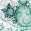 Stock Photo: Abstraction of fractal ivy, digital artwork for creative graphic design