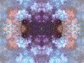 Symmetriska fraktala mönster, digitala konstverk för kreativ grafisk design — Stockfoto