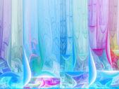 Hafif fraktal doku, yaratıcı grafik tasarım için dijital sanat — Stok fotoğraf