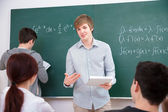 Students in classroom — Stock Photo