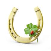 Lucky symbols — Stock Photo