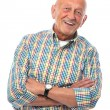 Portrait of a happy senior man smiling — Stock Photo #14587713