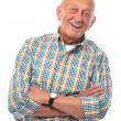 Stock Photo: Portrait of a happy senior man smiling