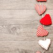 Red hearts — Stock Photo #18280999