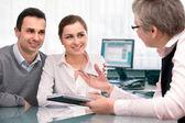Finanční plánování konzultace — Stock fotografie