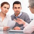 Stock Photo: Financial planning consultation