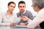 Financial planning consultation — Foto Stock