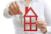 House and keys — Stock Photo