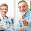 Doctor and patient - Stockfoto