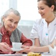 Foto Stock: Nursing home