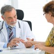 Stock Photo: Medical exam