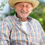 Portrait of senior man — Stock Photo