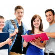Group of the students — Stock Photo