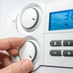 Heating boiler — Stock Photo #34984365