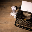 Vintage typewriter — Stock Photo #35599663