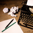 Vintage typewriter — Stock Photo #35599705