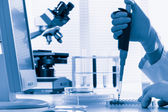 Laboratory — Stockfoto