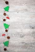 Vintage christmas decoration — Stock Photo