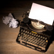 Vintage typewriter — Stock Photo #36662049
