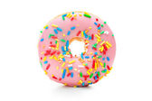 Delicious donut with sprinkles — Stock Photo