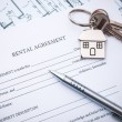Stock Photo: Lease agreement