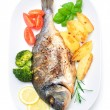 Sea bream fish — Stock Photo #41868435